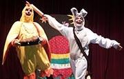 otroske gledaliske prireditve predstave - Fredi, velikonočni zajček z modro lupinico