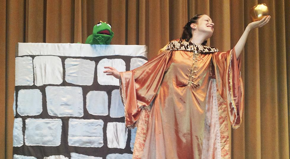 Predstava – Žabji Kralj